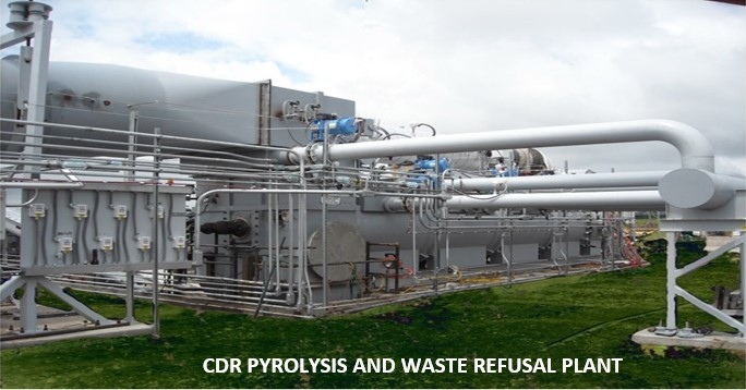 Pyrolysis Plant .- EcoSoluciones