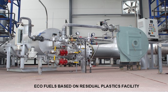 Plastic Catalytic Cracking Plant. Industrial solutions - EcoSoluciones