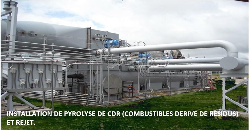 Installation de Pyrolyse - EcoSoluciones