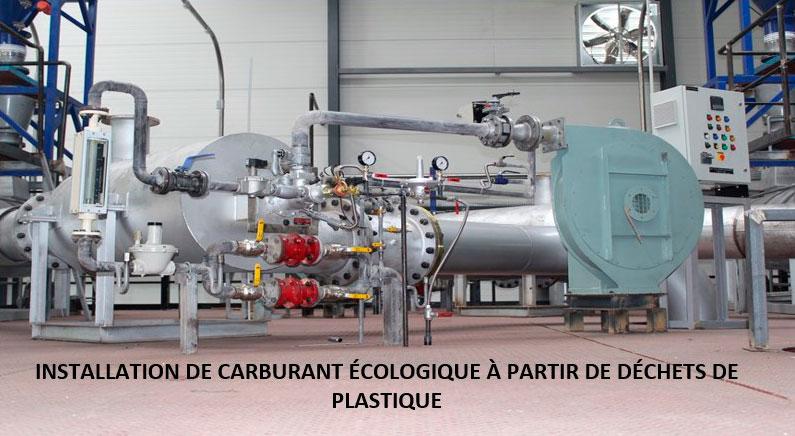 Craquage Catalytique de déchets plastiques. Solutions Industrielles des déchets - EcoSoluciones