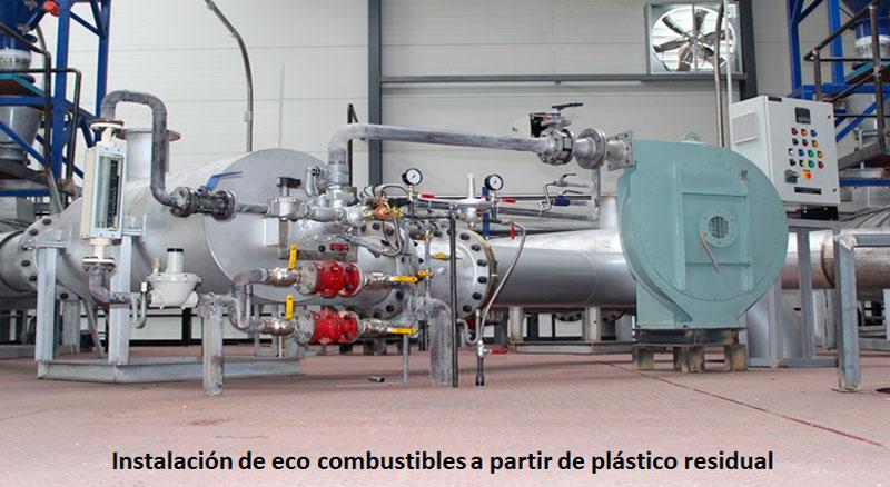Craqueo Catalítico de Plásticos. Soluciones Industriales - EcoSoluciones